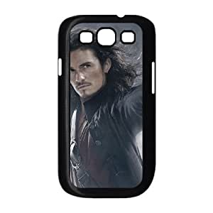 Samsung Galaxy S3 9300 Cell Phone Case Black Pirates of the Caribbean Phone Case Cover For Boys CZOIEQWMXN18140