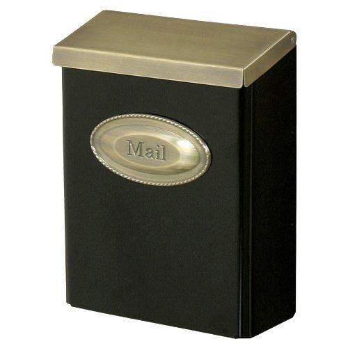 Blk Mailbox Wall (Mailbox Wall Lock Blk Carton)