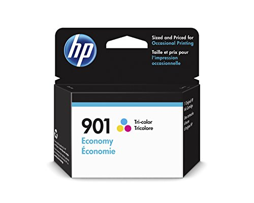 HP 901 Ink Cartridge Tri-Color Economy (B3B10AN)