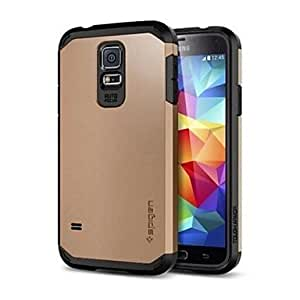 SGP Tough Armor TPU&PC Hard Case for Samsung Galaxy S5(Assorted Colors),Golden