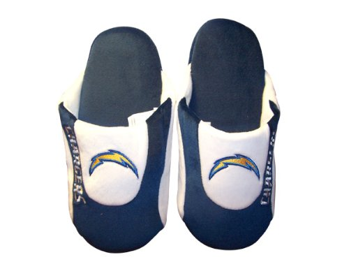 Low Low Pro Slippers Mens Womens Feet NFL Comfy Feet Los Officially Pro Happy Angeles Licensed and Chargers zUZUSw