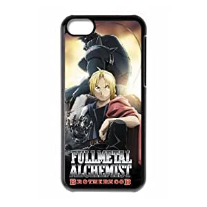 iphone5c phone cases Black FULLMETAL ALCHEMIST fashion cell phone cases YEDS9164921