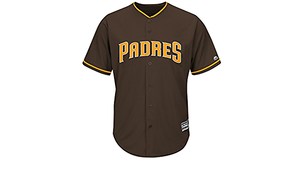 Majestic San Diego Padres Cool Base MLB Camiseta Alternate