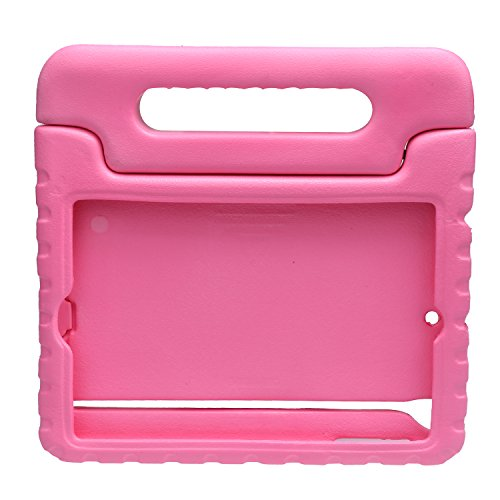 NEWSTYLE Shockproof Case with Built-in Handle for iPad Mini, iPad Mini 3rd Generation, iPad Mini 2 with Retina Display - Pink