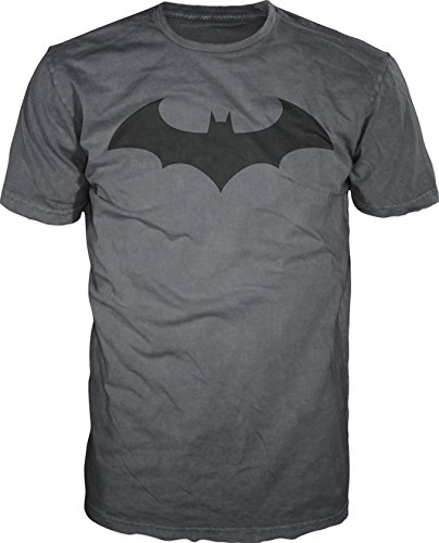 Batman+Retro+Shirts Products : Batman Bat Fly Men's Charcoal Tee