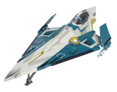 Star Wars Clone Wars - Blue Jedi Starfighter - Clone Wars Jedi Starfighter