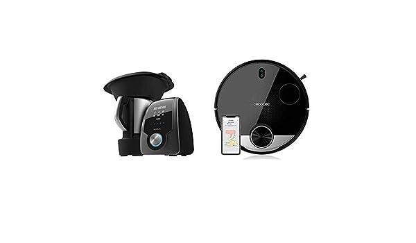 Cecotec Robot de Cocina Multifunción Mambo 7090 + Robot Aspirador ...