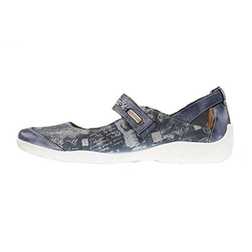Mujeres Bailarinas jeans/atlantis/hellg azul, (jeans/atlantis/hellg) R3442-14 jeans/atlantis/hellg