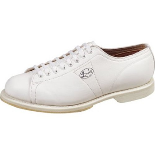 Linds Womens Classic Bowling Shoes- Right Hand (10 M US, White)