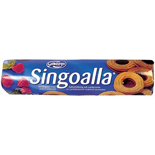 Goteborgs Kex Singoalla -Biscuits with Raspberry Filling - 190g