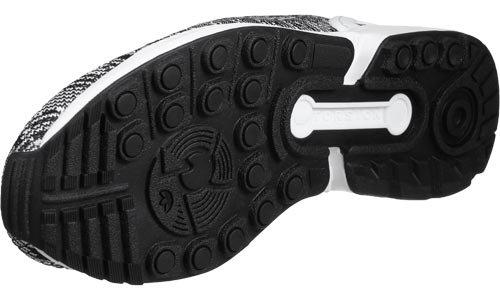 adidas White Flux da Black Uomo Scarpe ZX Ginnastica Basse 8rHRq8xw