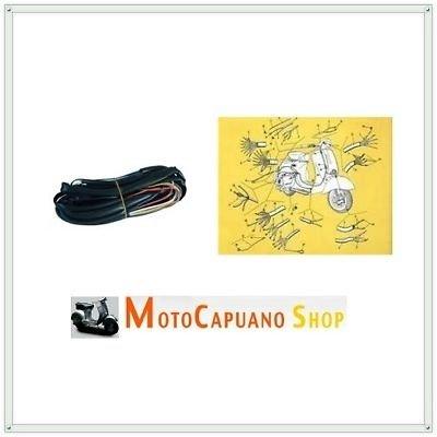 Schema Elettrico Auto : Impianto elettrico schema di montaggio vespa 150 vba: amazon.it
