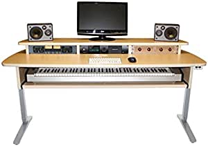 Summit Sit-Stand Keyboard Studio Desk