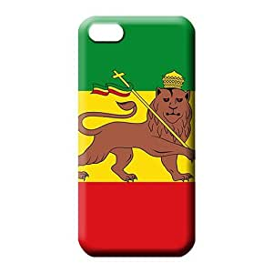 iphone 4 4s mobile phone shells Snap-on case cover Fashionable Design ethiopian empire flag 1897 1936 1941 1974