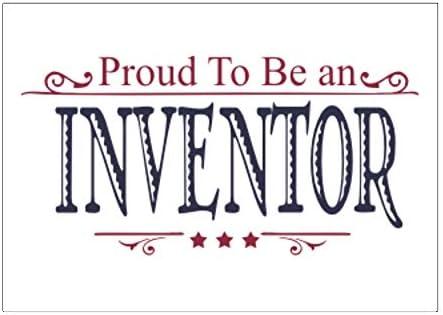 Teeburon Proud TO BE a Inventor Pack De Pegatinas X4 6