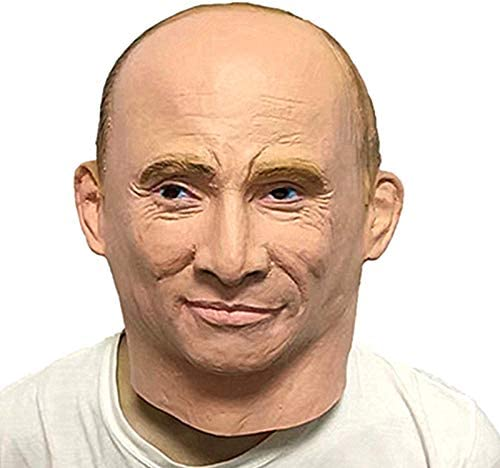 Takefuns Halloween Vladimir Putin Mask Horror Mask Zombie Mask Latex Biochemical Monster Mask Suit Costume Party Halloween Carnival Masquerade Decorations Amazon Ca Home Kitchen