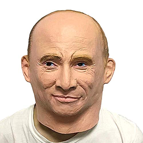 lulalula Vladimir Putin Celebrity Mask, Latex Face and
