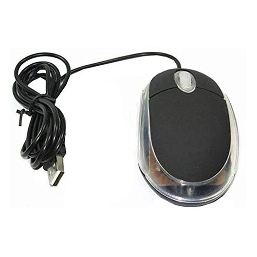 Optical Scrolling Mouse Usb - Chariot - Black USB Optical Scroll Scrolling Wheel Mice Mouse