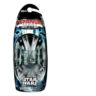 Star Wars Titanium Series Die Cast Metal Tie Bomber: Toys & Games