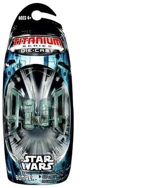 Star Wars Titanium Series Die Cast Metal Tie Bomber