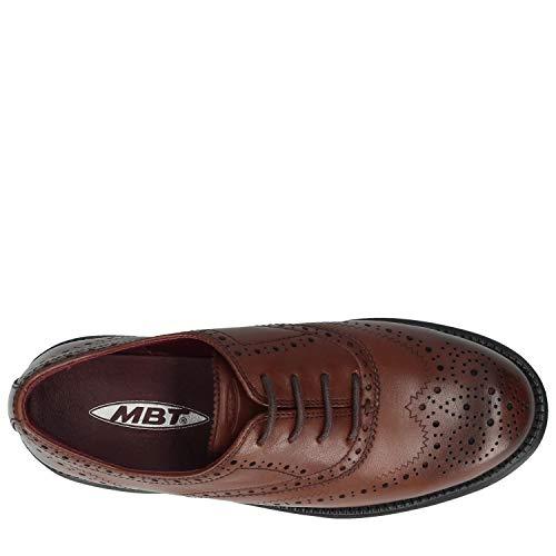 Marron MBT Boston para Mujer Zapato xwCRZqnB