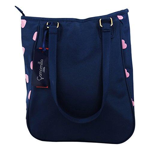 Camomilla Milano Shopper Bolso por Mujer Chica Fashion al Hombro Shopper Azul