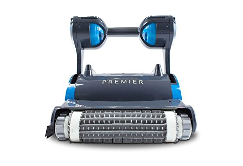 Dolphin Premier Inground Pool Cleaner with Pro Caddy