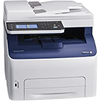 Xerox WorkCentre 6027/NI LED Multifunction Printer - Color - Copier/Fax/Printer/Scanner- 1200 x 2400 dpi Print - 150 sheets Input - Ethernet - Wireless - USB