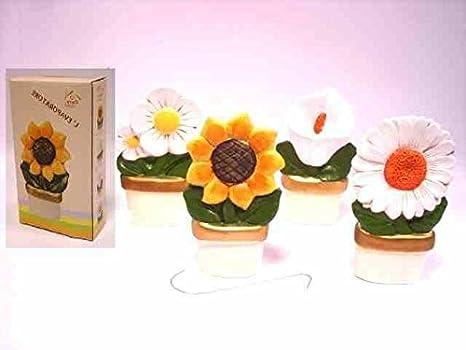 1 humidificador con flor Radiador vaporizador cerámica humidificadores Estufa Calefactor: Amazon.es: Hogar