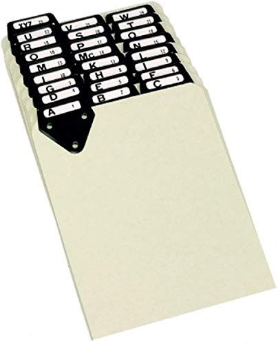 Martin Yale 14522 Posting Tray Index Set, 8 1/2 x 11