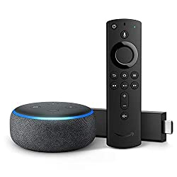 Fire TV Stick 4K bundle with all-new Echo Dot (3rd Gen)