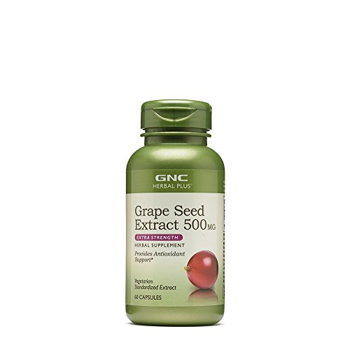 GNC Herbal Plus Grape Seed Extract 500 mg – Extra Strength Review