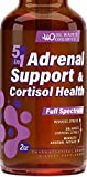 Best Adrenal Fatigue Supplements - Adrenal Support & Cortisol Manager - Adrenal Fatigue Review