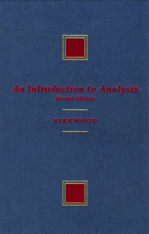 An Introduction to Analysis (Mathematics)