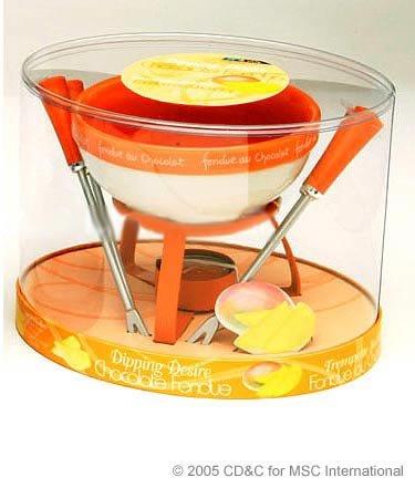 Joie Dipping Desire Chocolate Fondue Set - Mango by MSC