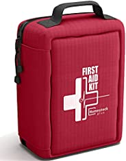 【2021 New】Professional First Aid Kit, Trauma Kit with Labelled Compartments Molle System for Car, Hiking, Back