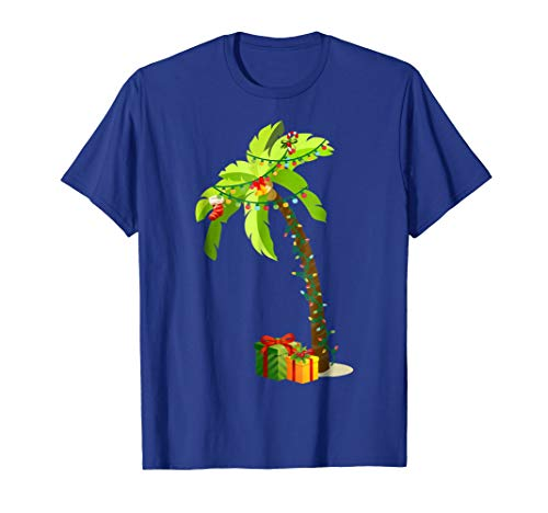 Christmas Palm Tree Coconut T-Shirt