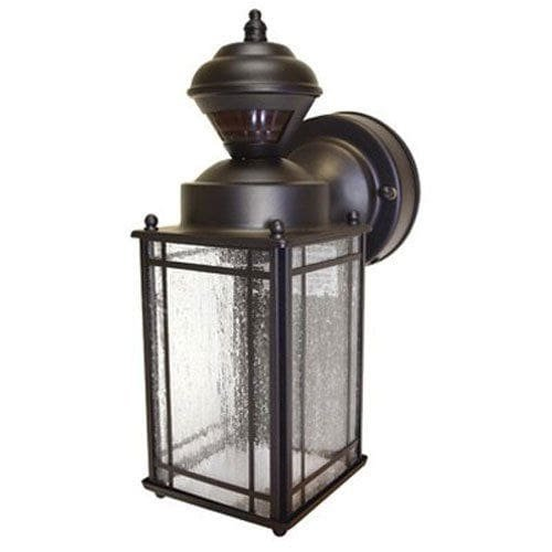 Heath Zenith Shaker Cove Mission Style 150-Degree Motion Sensing Decorative Security Light