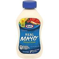 Kraft Real Mayonnaise, 12 fl oz Bottle