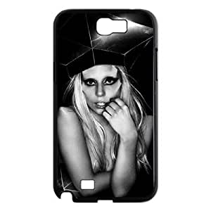 C-EUR Diy Phone Case Lady Gaga Pattern Hard Case For Samsung Galaxy Note 2 N7100 by lolosakes