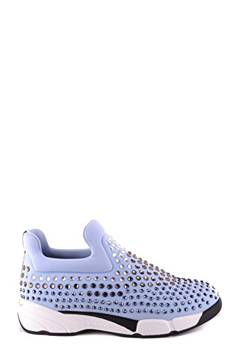 On Sneakers Pinko Donna Mcbi242224o Azzurro Tessuto Slip 1qzw6 c72f4974c71