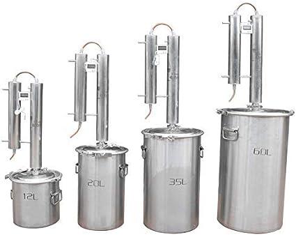CGOLDENWALL Columna de destilación Brandy aparato de ...