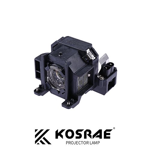 Projector Lamp 1715 - KOSRAE ELPLP38 / V13H010L38 Replacement Lamp for Epson EMP-1705 EMP-1715 / EX100 / PowerLite 1700 1705 1710 1710c 1715 1715c 1717 Projector