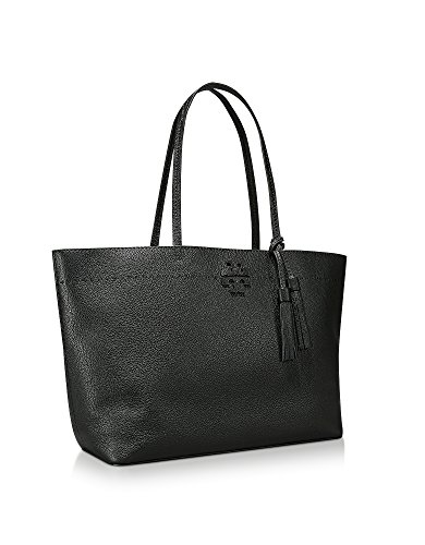 Tory Burch Borsa Shopping Donna 42200018 Pelle Nero