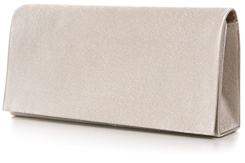 5 5x3 Evening Vincent Light clutch Perez H Shoulder b Satin Taupe X Clutch Bag 23x9 nbsp;cm T 88xzF5nq