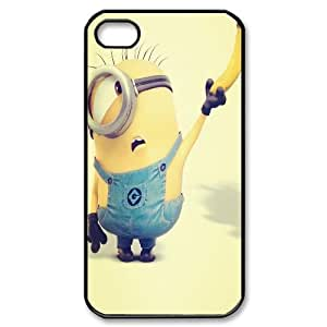 DDOUGS I Minion Customized Cell Phone Case for Iphone 4,4S, Personalised I Minion Case