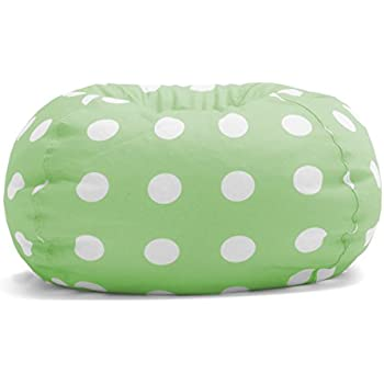 Big Joe Classic Bean Bag Chair, Chartreuse Polka Dot