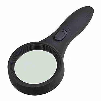 Amazon.com : eDealMax 60mm Len Dia de luz Blanca DE 6 LED iluminado ...