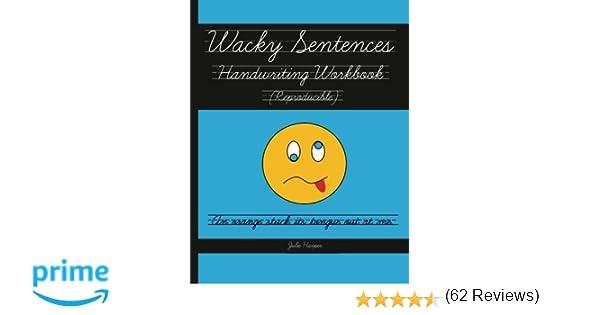 Wacky Sentences Handwriting Workbook (Reproducible): Practice ...