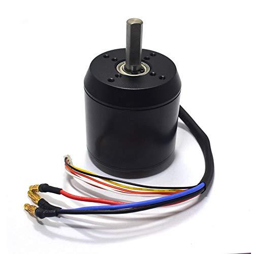 C6374 170KV Efficience Brushless Belt Sensored Motor for Electric Skateboard Longboarding